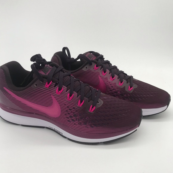check out 3102d 8c08e Women s Nike air zoom Pegasus 34 pink purple shoes